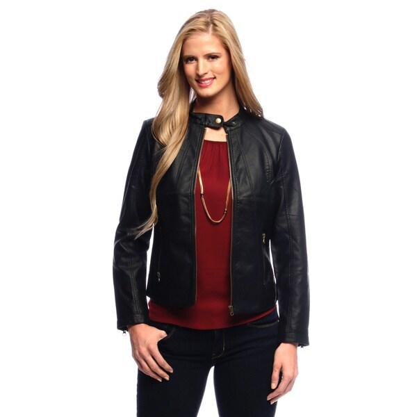 Live a Little Women's Zip Pocket and Zip Front Jacket