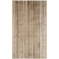 Safavieh Vintage Caramel Abstract Distressed Silky Viscose Rug (3'3 x 5'7)