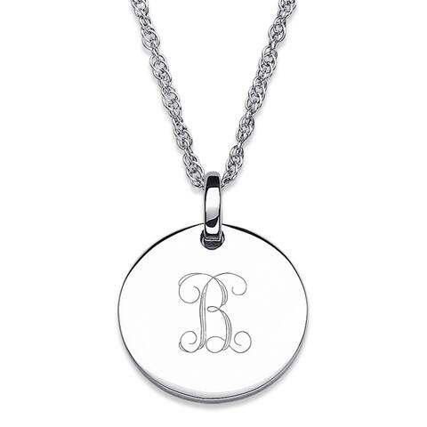 3092f7e61d242 Buy Initial Sterling Silver Necklaces Online at Overstock | Our Best ...