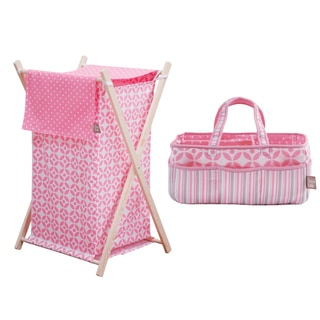 Trend Lab 2-piece Storage Set in Lily