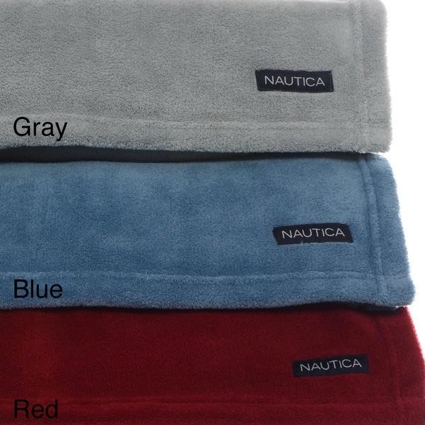 Nautica Microfleece Anti-pill Blanket