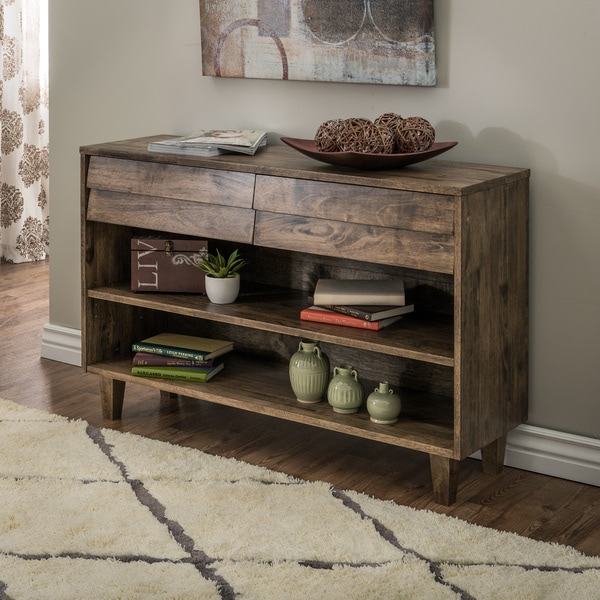 Venetian 2 Drawer Console Table