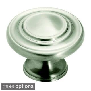 Amerock Inspirations 1.75-Inch Oversize Satin Nickel Cabinet Knob (Pack of 2)