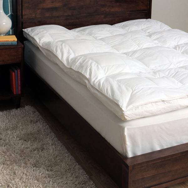 CozyClouds by DownLinens 233 Thread Count Fiber Bed - White