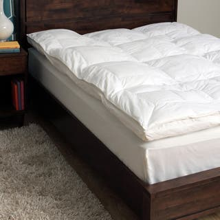 CozyClouds by DownLinens 233 Thread Count Fiber Bed - White|https://ak1.ostkcdn.com/images/products/9106060/P16292794.jpg?impolicy=medium