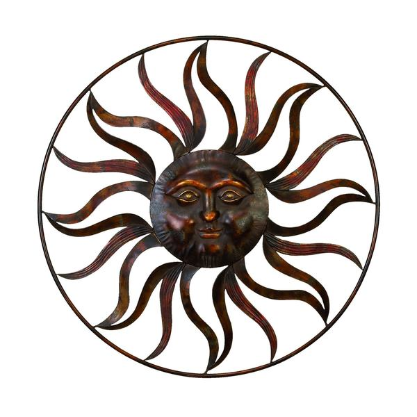 Shop Studio 350 Metal Sun Wall Decor 36 Inches D Free