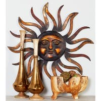 Studio 350 Metal Sun Wall Decor 35 inches D