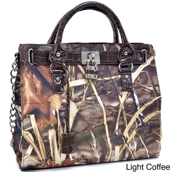 Realtree Western Camo Satchel Purse