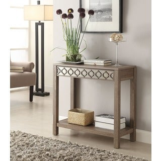 Helena Sun-Bleached Oak Console Table