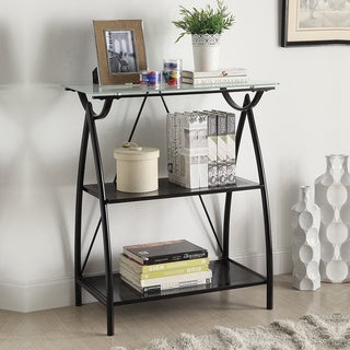 Newport Frosted Glass Top Bookshelf