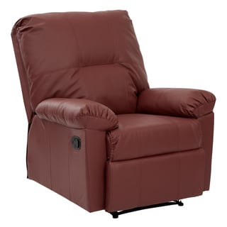kensington ecofriendly leatherette recliner with solid wood legs - Mission Style Recliner