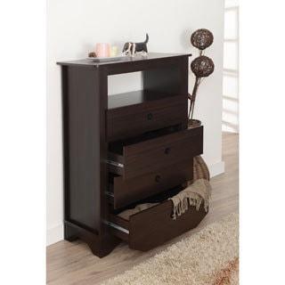 Furniture of America Laurel 4-drawer Storage Dresser Chest