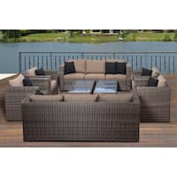 Havenside Home Fort Lauderdale 10-piece Conversation Set