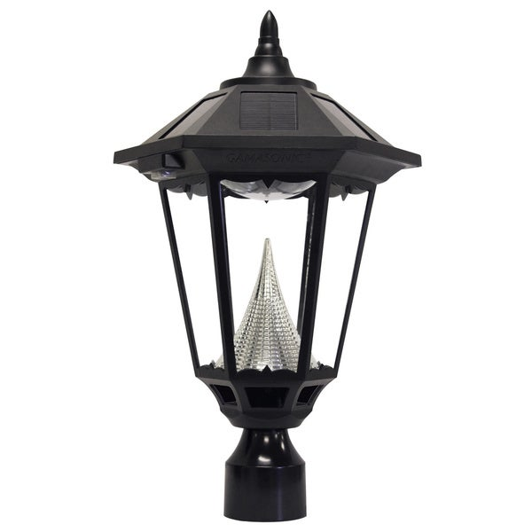 Must Watch 30 Stunning Deck Lighting Ideas: Shop Gama Sonic GS-99F Windsor Solar Light With 11 Bright