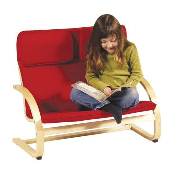 Kiddie Rocker Couch Red