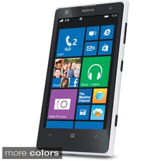 Nokia Lumia 1020 32GB AT&T Unlocked GSM Windows Cell Phone