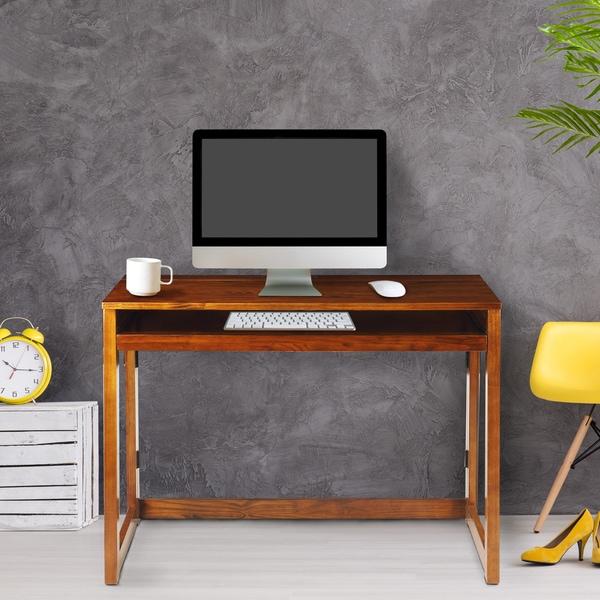 Modern Folding Desk with 4 USB Ports. Opens flyout.