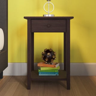 Porch & Den Longfellow Willow Nightstand with USB Ports