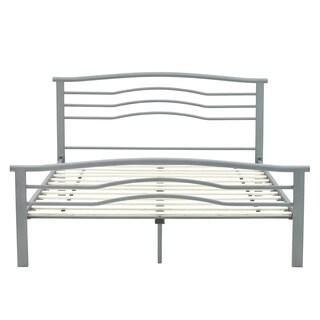 Sleep Sync Deleware Grey Platform Bed