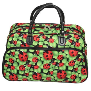 World Traveler Lady Bug 21-inch Carry-on Duffle Bag