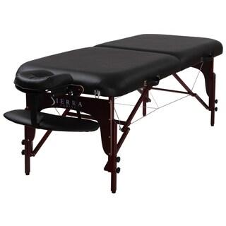 Sierra Comfort Premium Portable Mahogany Massage Table