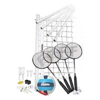Franklin Sports Advanced Badminton & Volleyball Set
