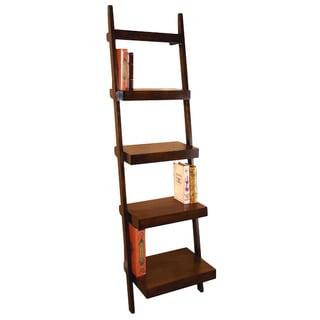 Wood Leaning Shelf Multi-Purpose Rack