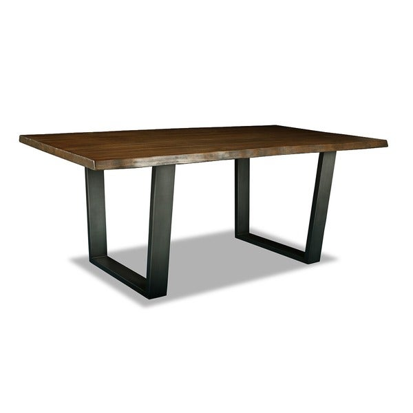 Shop Soho Live Edge Dining Table Free Shipping Today