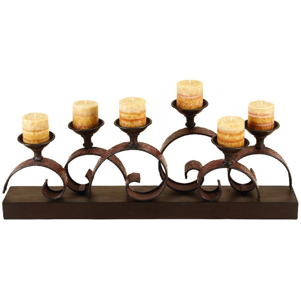 Metal candle holder free shipping today overstock