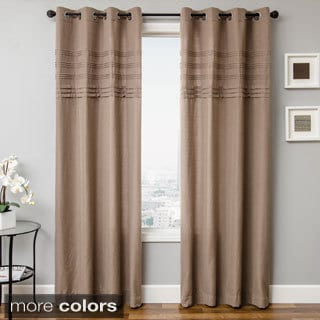 Carry Pleated Gromment Top Curtain Panel