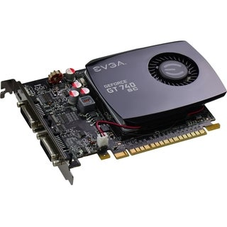 EVGA GeForce GT 740 Graphic Card - 1.06 GHz Core - 4 GB DDR3 SDRAM -