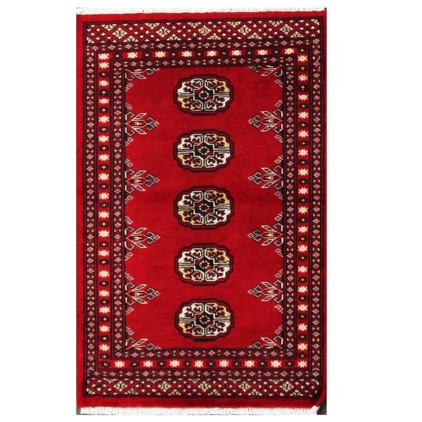 Pakistan Bokhara Rugs In Red: Shop Handmade Herat Oriental Pakistani Tribal Bokhara Wool