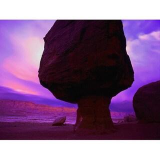 Dean Uhlinger 'Echo Cliffs Storm Light' Unwrapped Canvas