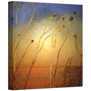 Dean Uhlinger 'Texas Sand Storm' Gallery-wrapped Canvas