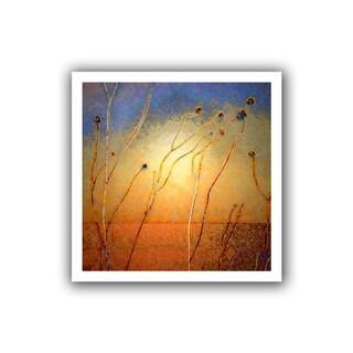 Dean Uhlinger 'Texas Sand Storm' Unwrapped Canvas