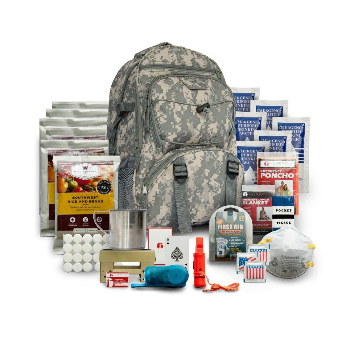 Wise Foods 5-day Survival Back Pack Camo (5-day Survival ...