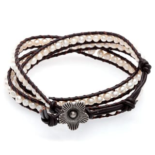 Three Wrap Bead Bracelet (Thailand)