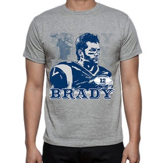 Men's New England Patriots Tom Brady Portrait T-shirt