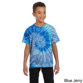 Link to Youth Cotton Tie-dyed T-shirt Similar Items in Boys' Clothing