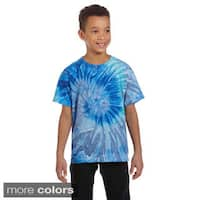 Youth Cotton Tie-dyed T-shirt