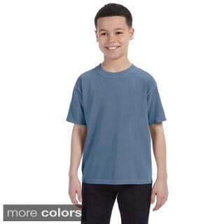 Youth Ringspun Garment-dyed T-shirt