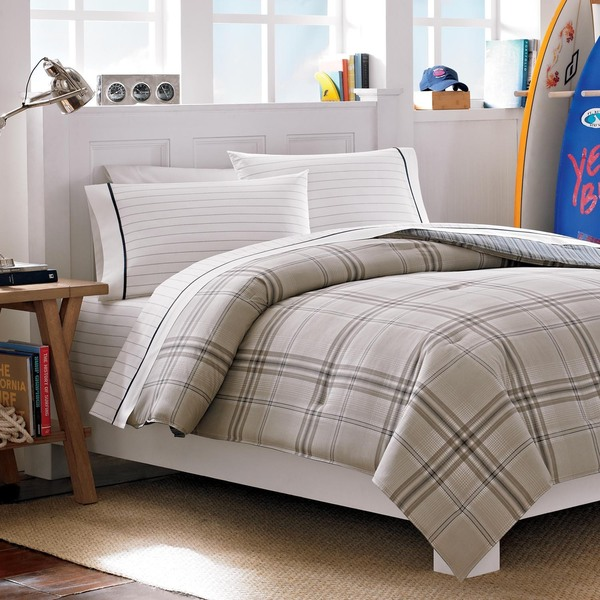 Nautica Hempstead 3-Piece Cotton Comforter Set