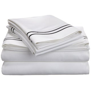 Superior Egyptian Cotton 800 Thread Count Embroidered Sheet Set (More options available)