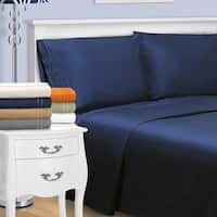 Superior Egyptian Cotton 800 Thread Count Embroidered Sheet Set