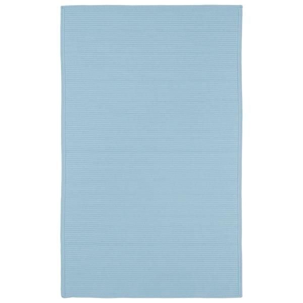 Indoor/ Outdoor Malibu Woven Light Blue Rug (5' x 8') - 5' x 8'