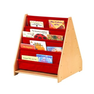 Two-sided Canvas Book Display