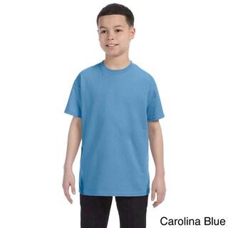 Gildan Youth Heavy Cotton 5.3-ounce T-shirt