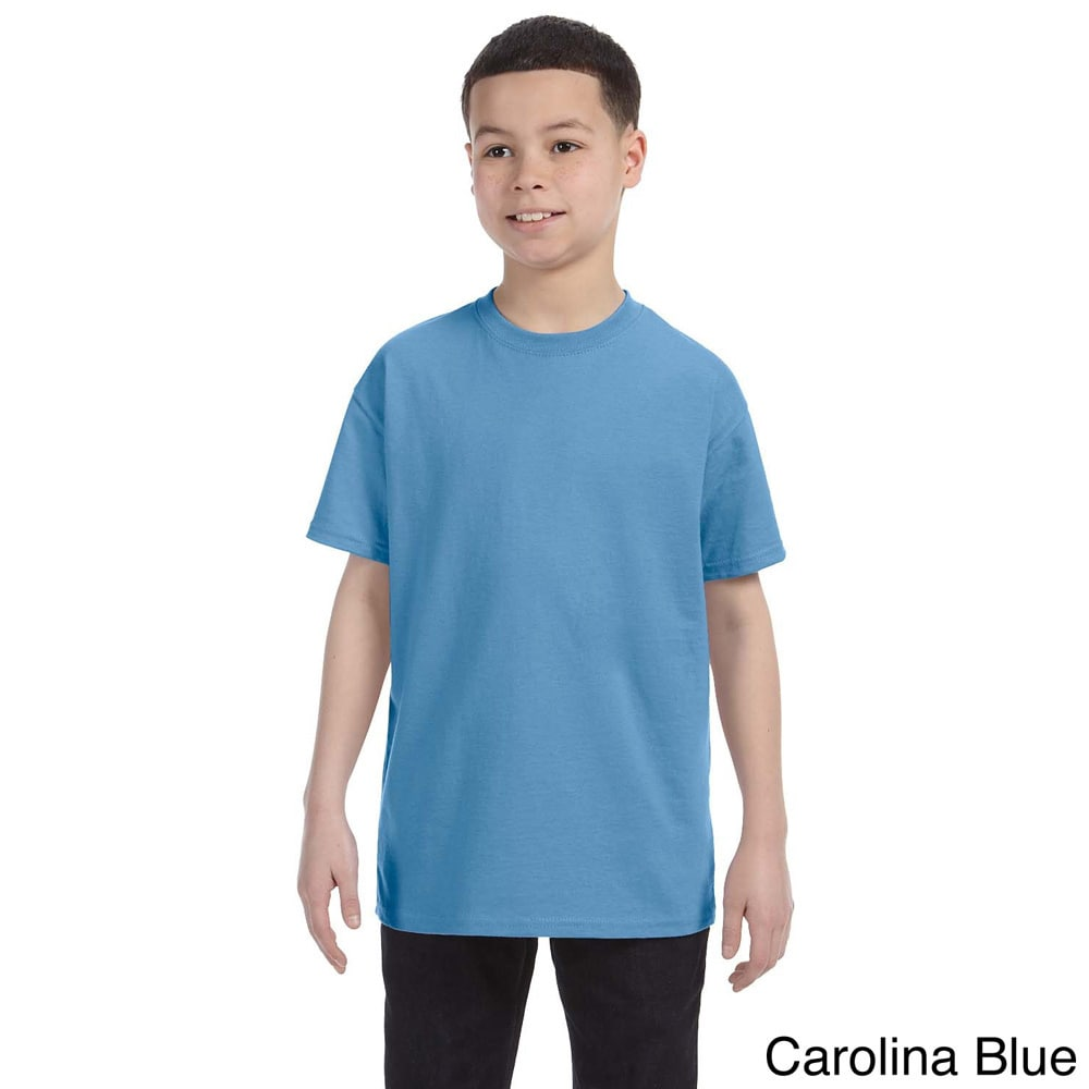 Gildan Youth Heavy Cotton 5.3 ounce T shirt
