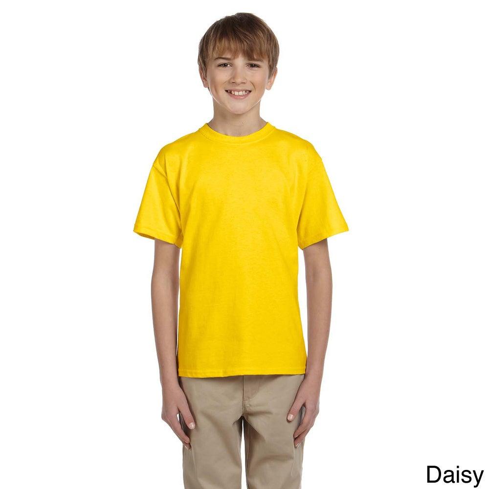 Gildan Gildan Youth Ultra Cotton 6 ounce T shirt Other Size XS (4 6)