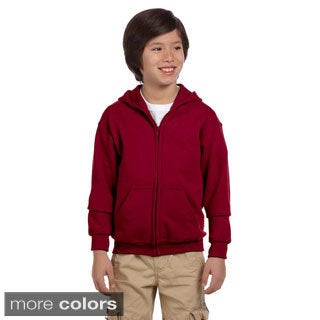 Heavy Blend Youth 50/50 Full-zip Hooded Jacket